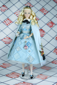 ooak, doll, sutomedoll, alice in wonderland, alice, barbie alice, barbie, ooak magia2000