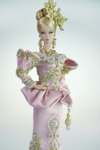 Pink couture in versailles