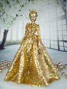 Xmas in Beijin gold