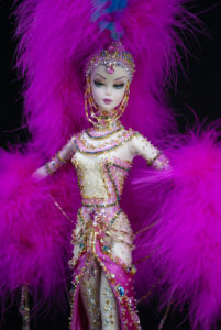 Magic Pink Showgirl 1